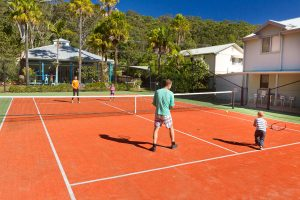 Blueys Retreat - Tennis Court